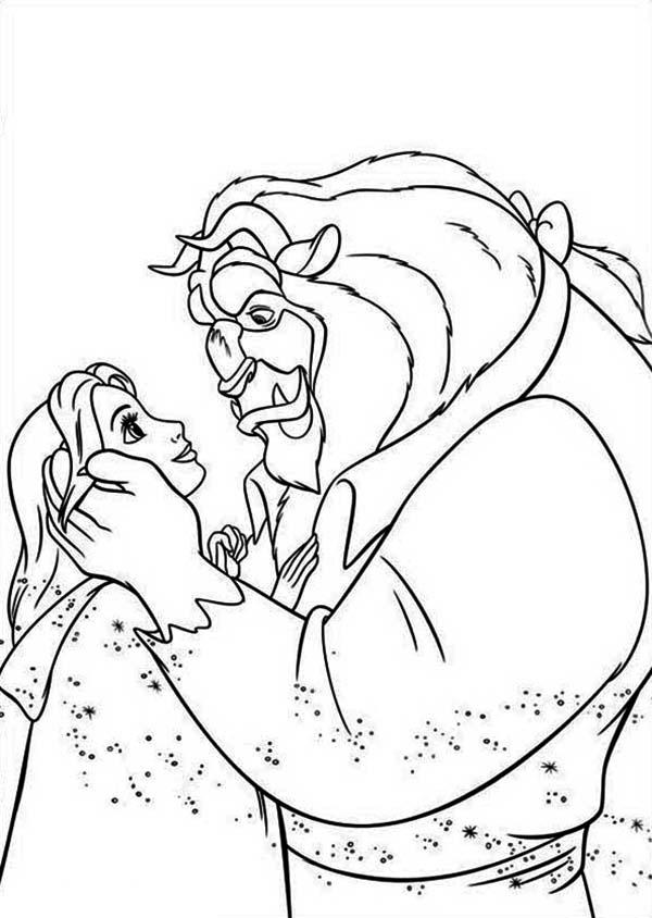 Kleurplaten Disney Prinsessen Belle Prinz Und Prinzessin Malvorlagen