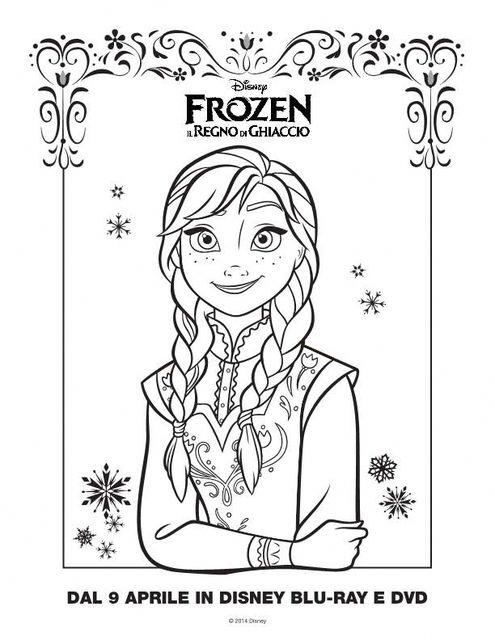 Immagini da colorare frozen cartoni da colorare for Disegni da colorare frozen