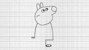 immagine da colorare peppa pig051